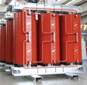 Bilde av epoxy transformator produsert av GBE Italia